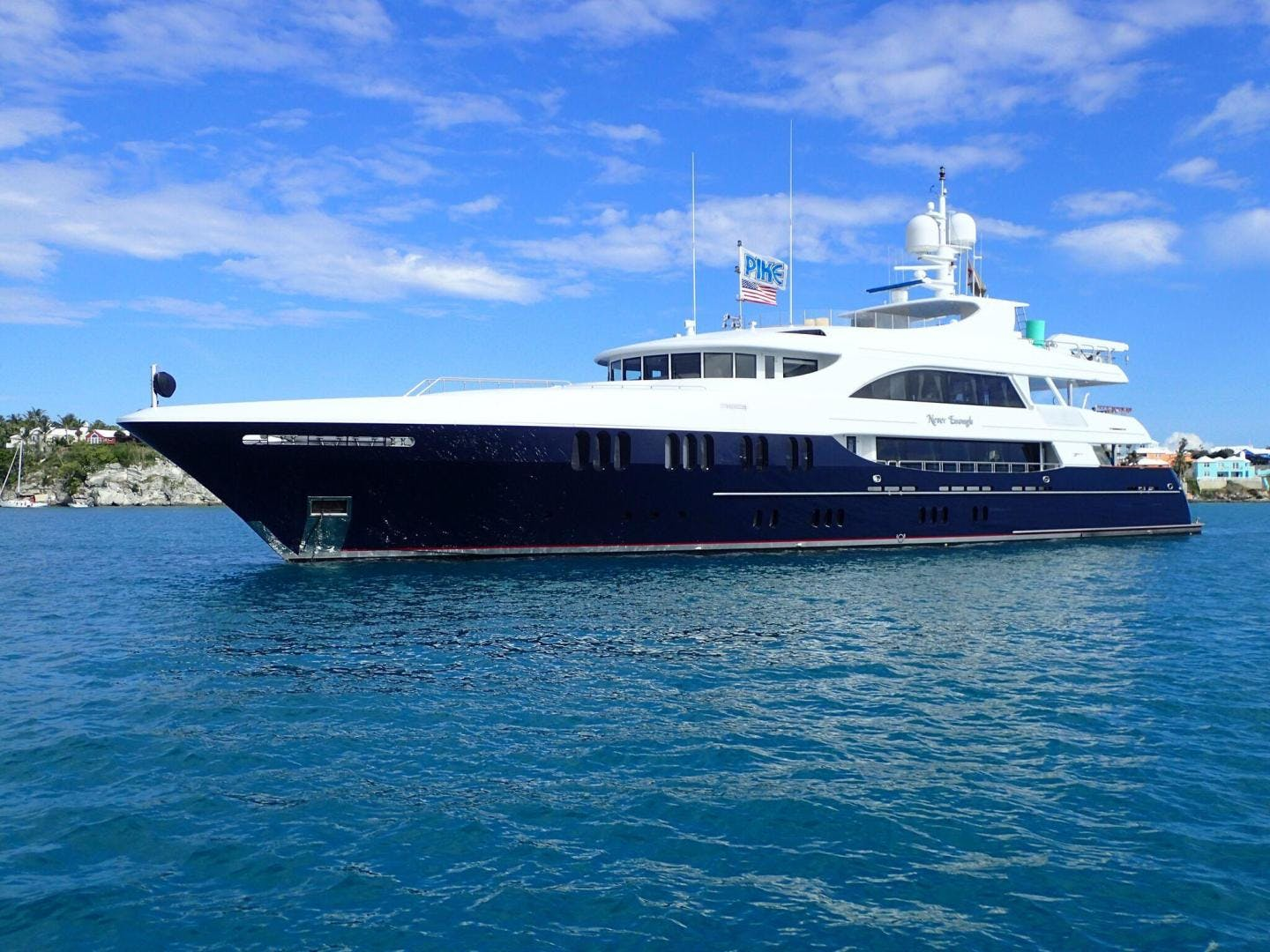 2006 Trinity Yachts 157' Tri-Deck MY NEVER ENOUGH | Picture 1 of 39