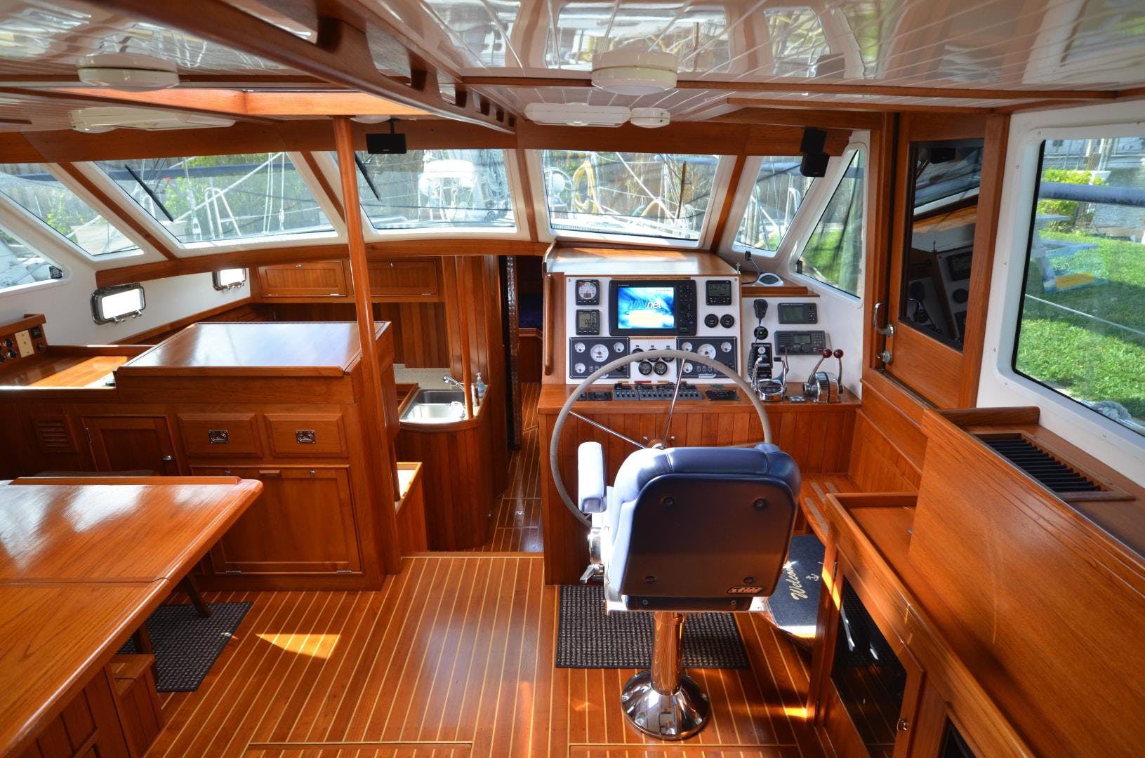 2010 Shannon 60' 53 HPS 60 Motorsailor The Harlen Wood | Picture 3 of 49