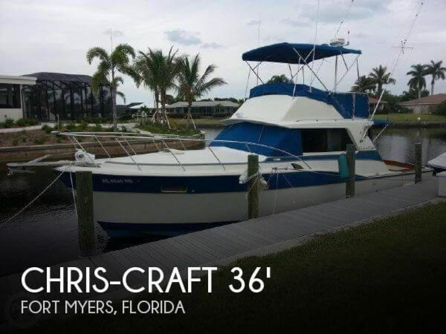 1973 Chris-Craft 36' Commander  | Picture 1 of 43