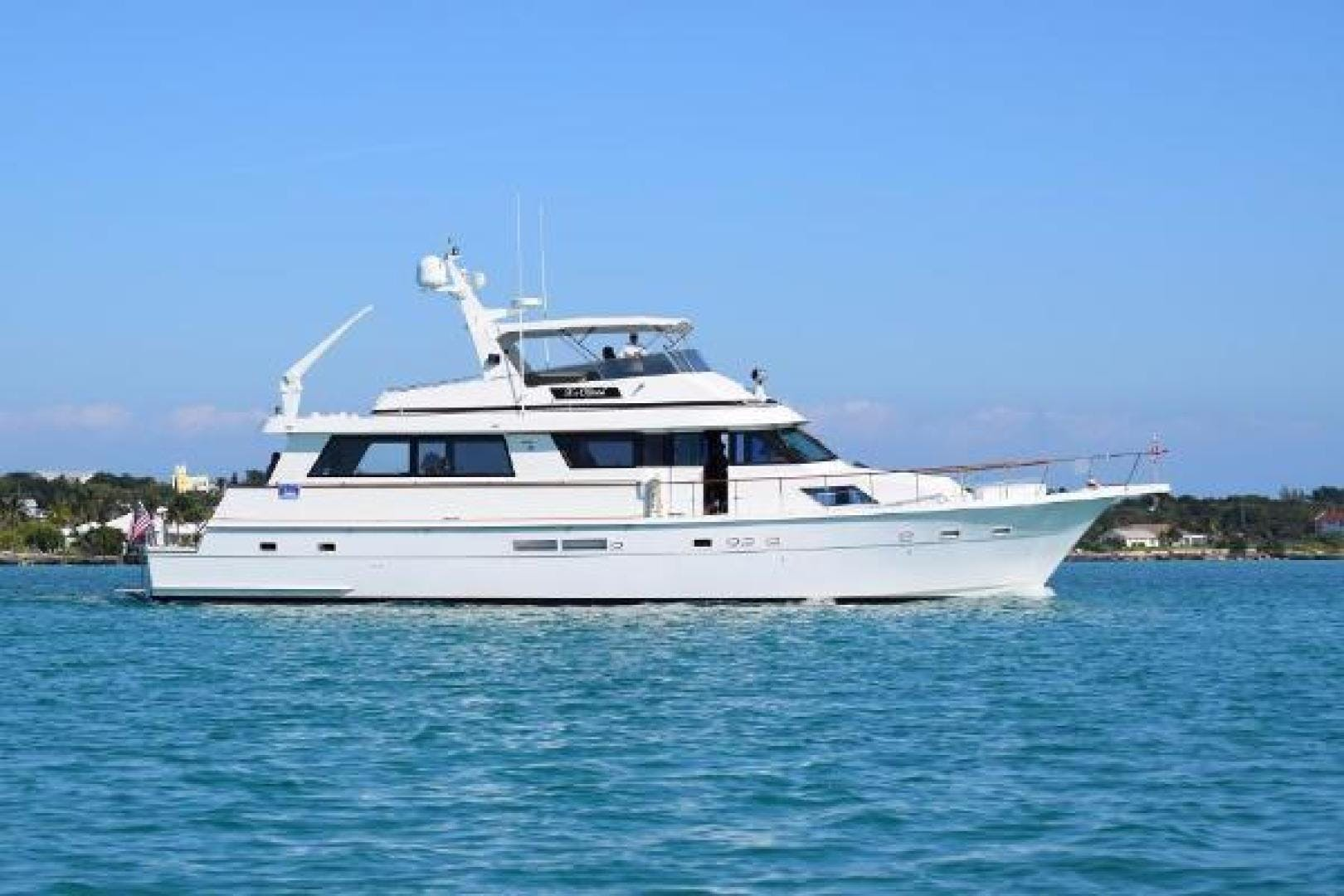 1991 Hatteras 70' Cockpit Motor Yacht  | Picture 1 of 17