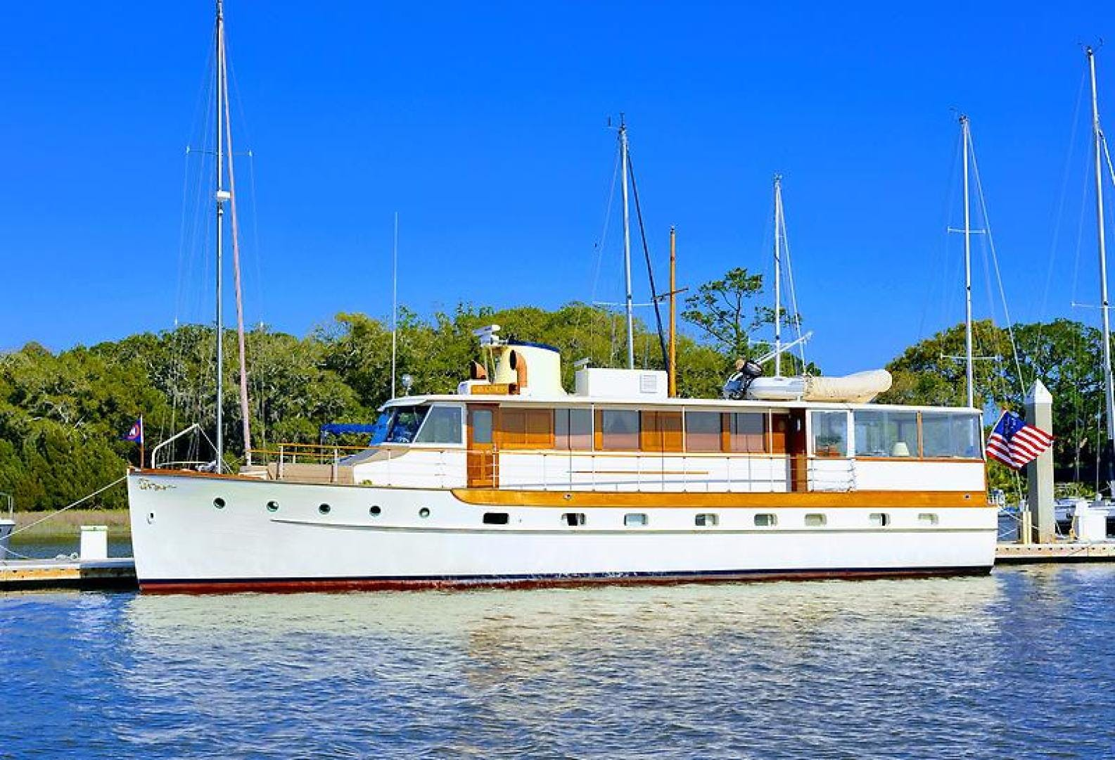 1947 Trumpy 60' Houseboat Reserved | Picture 1 of 79