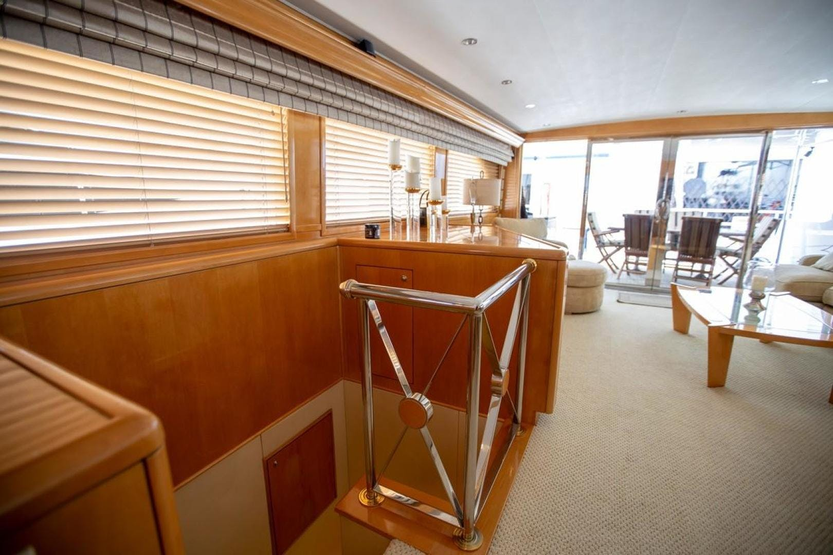 2000 Hatteras 75' Cockpit Motor Yacht Getaway | Picture 3 of 59